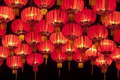 Chinese lanterns - stock photo