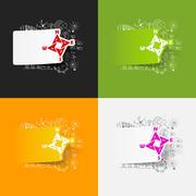 Drawing business formulas: compass Stock Illustration