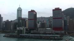 Hong Kong Skyscrapers Stock Footage