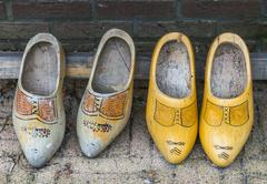 Wooden shoe Stock Photos