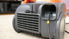 Vacuum Cleaner on the Carpet Stock Footage