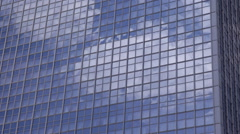 Berlin Business Building Office Tower Corporate Skyscraper Modern Hotel Facade Stock Footage