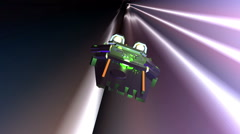 starship lightspeed light speed warp - stock footage