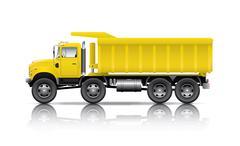 All wheel drive dumper - stock illustration
