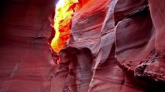 Antelope Canyon Stock Footage