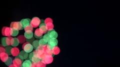 Firework effect 02 Stock Footage
