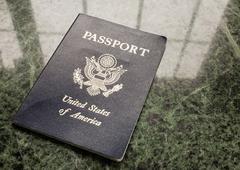 Usa passport Kuvituskuvat