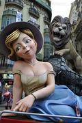 Fallas - stock photo