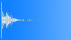 Punchy soft gun shot - sound effect