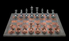 Chessboard Stock Illustration