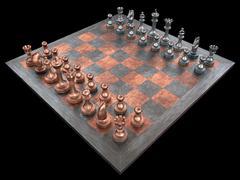Chessboard - stock illustration