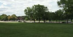 Parc du Mont Royal in Montreal Stock Footage