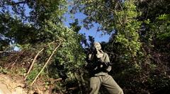 Hazmat Soldier (sentry) | Zombie Apocalypse 8 Stock Footage