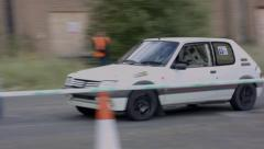 Renault Race car - stock footage