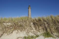 Skagen (denmark) - lighthouse grey tower Stock Photos