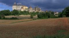 Chateau de Biron - Biron France - HD 4k Stock Footage