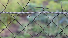 Fence net Stock Footage
