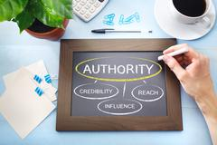 sources of authority - stock photo