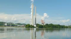 Kingston Fossil Plant 1 - stock footage