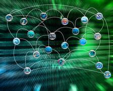 Stock Illustration of link