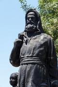 Statue of saint nicholas Stock Photos