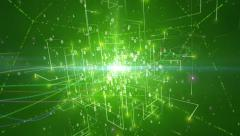 Abstract matrix source code Stock Footage