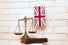 British law and justice Stock Photos