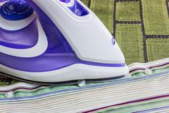 Ironing - stock photo