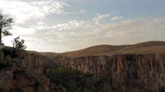 Ihlara Valley Time Lapse, Landscape, Nature Stock Footage