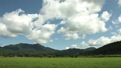 peaceful field yamanasi japan, color graded Full HD (1920x1080) - stock footage