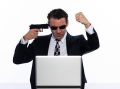 internet piracy - stock photo