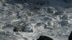 Stock Video Footage of Crashing Waves, Rocks, Surf, Coast, Ocean, 4K, UHD