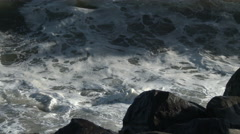 Kaatuu Waves, Rocks, Surf, Coast, Ocean, 4K, UHD Arkistovideo