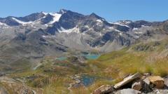 Alpine landscape in summer 4k Stock Footage