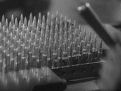 WW2 German War Industrie Production Of Ammunition Stock Footage