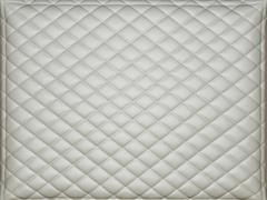 beige leather background with rhombus bumps - stock photo