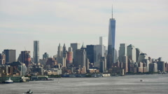 One World Trade Center NYC Stock Footage