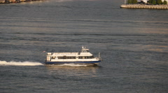 NYC Waterway Stock Footage