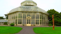National Botanic Gardens Dublin Stock Footage