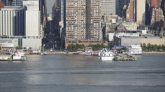 42nd Street New York City Skyline Stock Footage