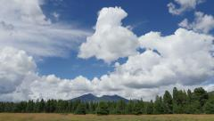 4K Storm Clouds Building over Humphreys Peak Part 1 Stock Footage