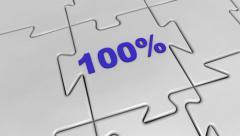 100 Percentage Stock Footage