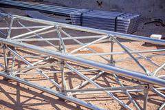 Steel frame clones Stock Photos