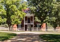 Appomattox county courthouse national park Stock Photos