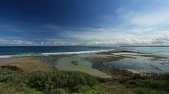 Bass Strait Victoria Australia Stock Footage