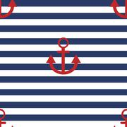 Stock Illustration of vector modern anchor background.