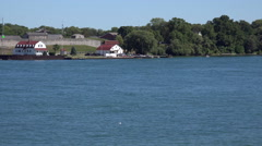Old Fort Niagara, NY (Opened: 1726) Stock Footage