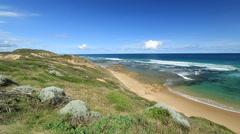 Australian Coastal landscape Stock Footage