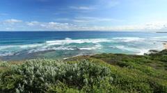 Overlooking Bass Strait Australia Stock Footage