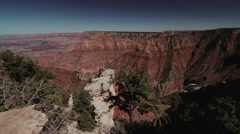 Fullhd shot of the grand canyon, Pan Stock Footage
